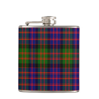 Hewitt Scottish Tartan Hip Flask