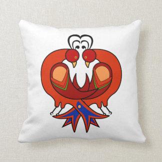 HEX Art Love Birds Throw Pillow