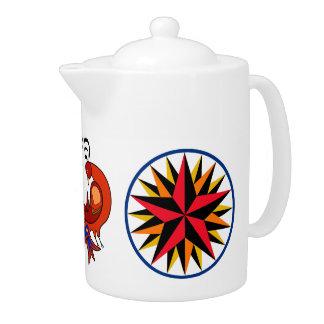 HEX Art & Russian Folk Art - Tea Pot
