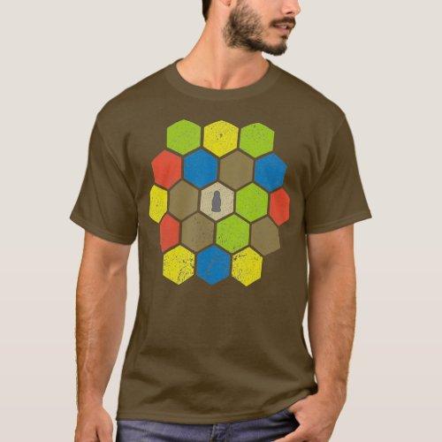 Hex Board Game Night Shirt _ Dark