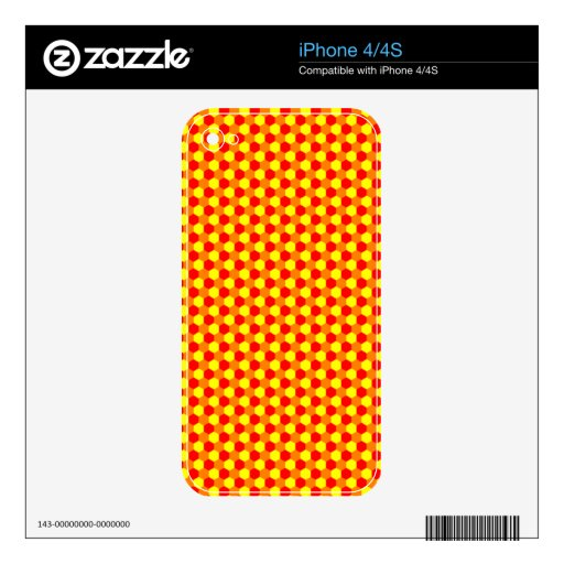 hex harvest mousepad decals for the iPhone 4S
