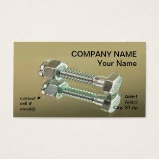 hex head bolt business card