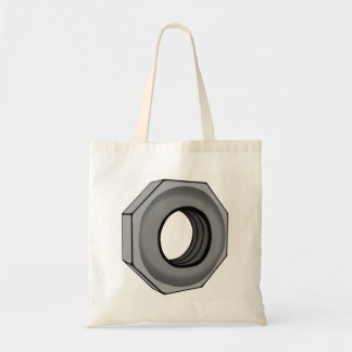 Hex Nut Tote Bag