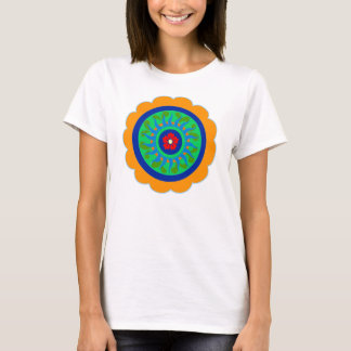 Hex Sign Flower T-Shirt