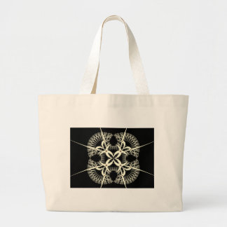 hex sign large tote bag