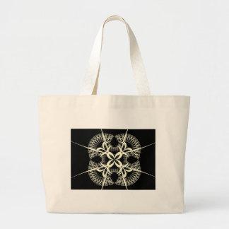hex sign large tote bag