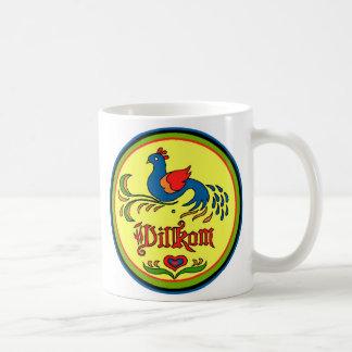 Hex Sign Welcome Bird Coffee Mug