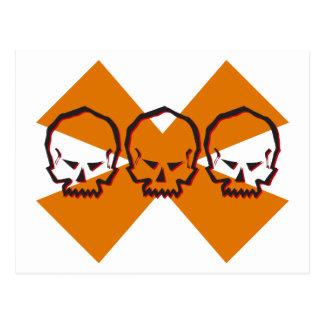 Hex Skull Postcard