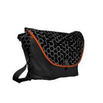 Hex x1x Dark Grey Courier Bag