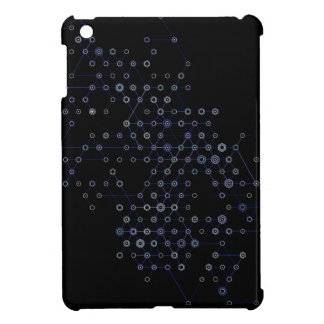 Hexa Dark Blue x2x iPad Mini Case