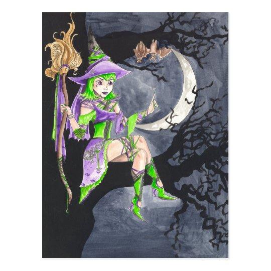 'Hexaba and the Bats' Postcard