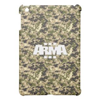 Hexacam - semi-arid camo pattern iPad case