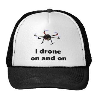 Hexacopter del abejón I sin cesar Gorros Bordados