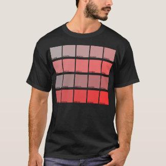 Hexadecimal Colors Hue 21-40 T-Shirt