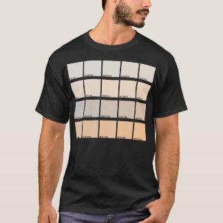Hexadecimal Colors Hue 81-100 T-Shirt