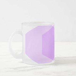 Hexagon 04 Frosted Glass Mug