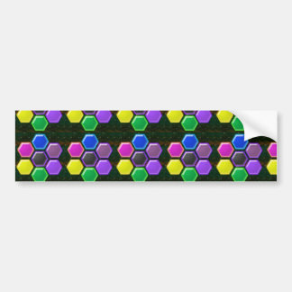 HEXAGON All Season Decorations n GIFTS Bumper Stickers