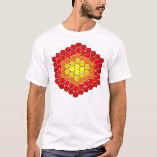 Hexagon / Cube Pattern T-shirt