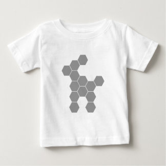 Hexagon Future Dog Baby T-Shirt