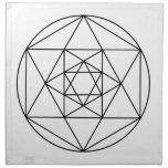 Hexagon Gem1 Cloth Napkin