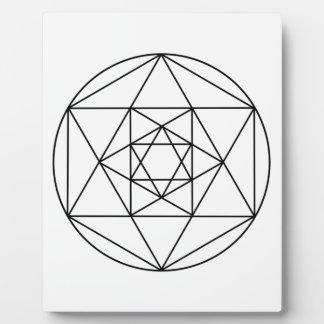 Hexagon Gem1 Plaque