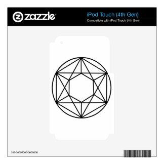 Hexagon Gem2 iPod Touch 4G Skin