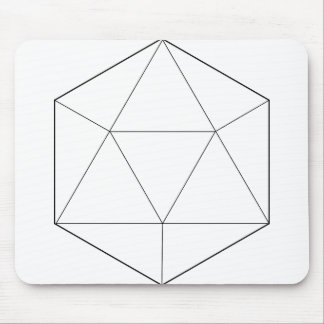 Hexagon Geometry Mouse Pad