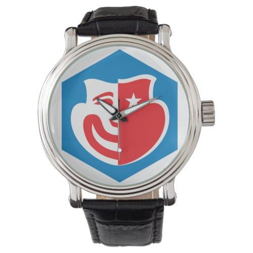 Hexagon Logo Watch
