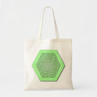 Hexagon Maze Bag