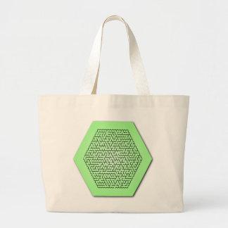 Hexagon Maze Bags
