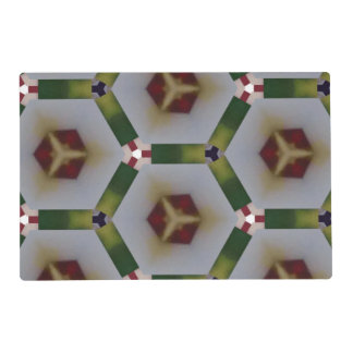 Hexagon pattern placemat