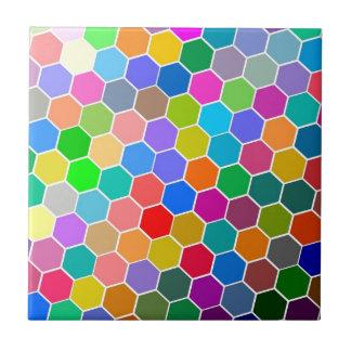 Hexagon Pebbles Ceramic Tile