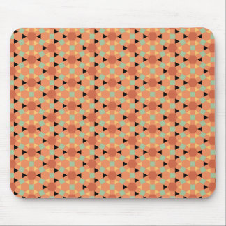 hexagon persian pattern mouse pad