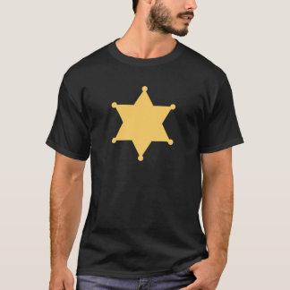 Hexagon sheriff star hexagon sheriff's badge T-Shirt