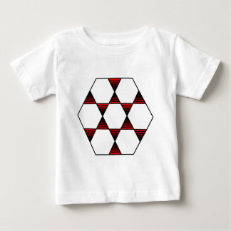 Hexagon Star Red Baby T-Shirt