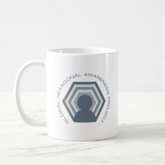 Hexagonal awareness Euclid mug