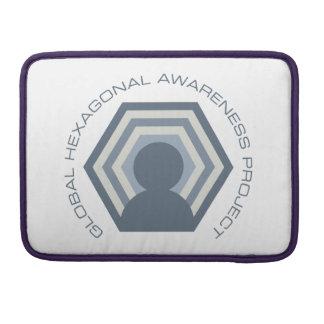 Hexagonal awareness Macbook thing Sleeve For MacBooks