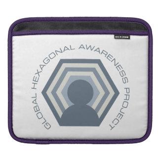 Hexagonal awareness tablet thing iPad sleeve