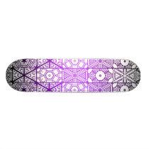 Hexagonal Patterns: Skateboard