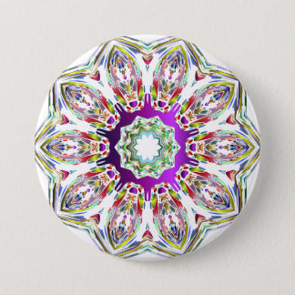 Hexagonal Pinback Button