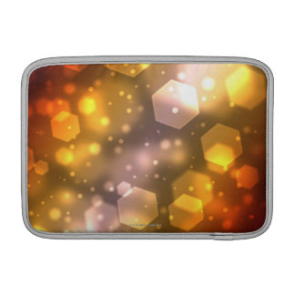 Hexágono abstracto fundas MacBook