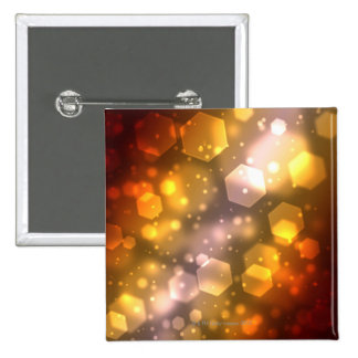 Hexágono abstracto pin cuadrado