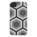 hexágono Case-Mate iPhone 4 protectores