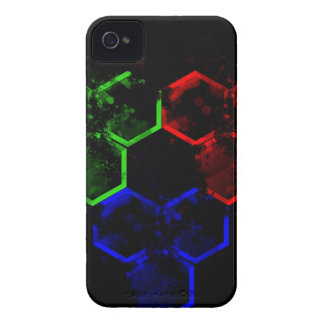 hexágono iPhone 4 protectores