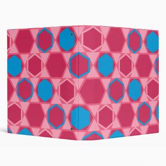 Hexagons (crimson) folder