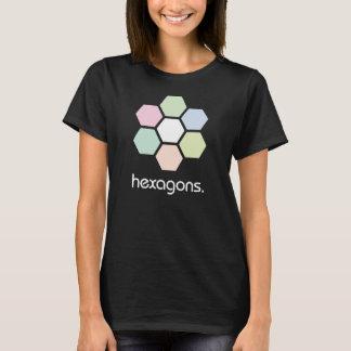 Hexagons dark shirt