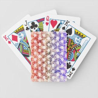 HEXAGONS, HEXAGRAMS & SWIRLS BICYCLE POKER CARDS