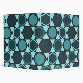 Hexagons (teal) folder