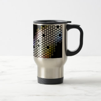 Hexagons Travel Mug