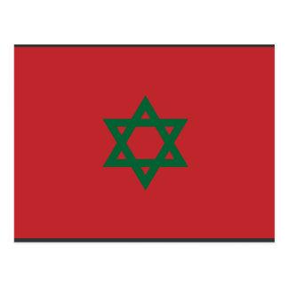 Hexagram de Marruecos, Marruecos Postales